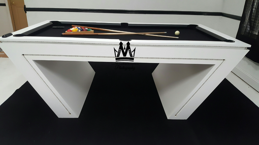 Custom Made Virtual Reality Vr Pool Table! Glow In The Dark Pool Table Cool Pool Tables
