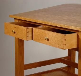 Custom Made Barrister's Stand-Up Desk