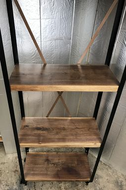 Custom Made Vintage Industrial Shelf