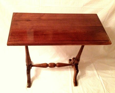 Custom Made Maryland Twin Pedestal Side Table