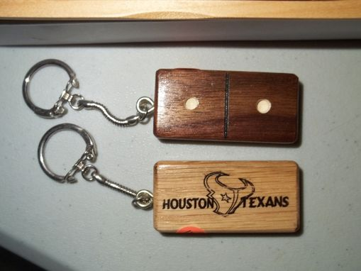 Custom Made Wooden Key Rings