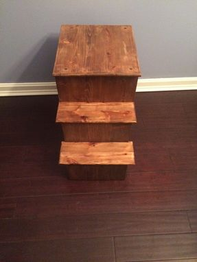 Custom Made Unique, Handcrafted Pet Stool