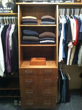 Custom Made Closet Organizer