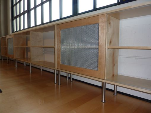 Custom Made Birch Muti-Use Cabinets