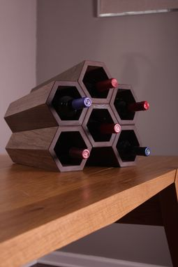 Custom Made Honeycomb (Wine Rack)