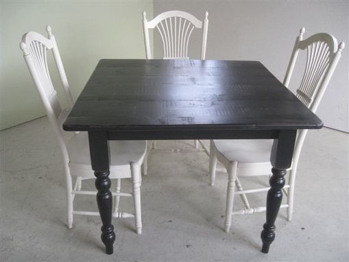 Custom Made Small Square Dining Table For Kitchen Or Dining Room