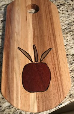 Custom Made Artisan Inlay Cutting/Serving Board