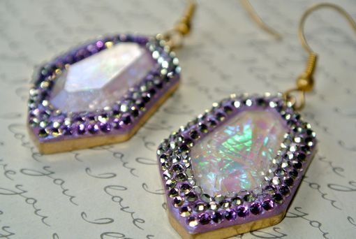 Custom Made Divine Opal Rock Earrings Made With Swarovski® Elements