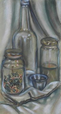 Custom Made Herbs Still Life Painting Or Drawing