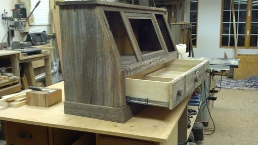 Custom Made 10  Gun Cabinet