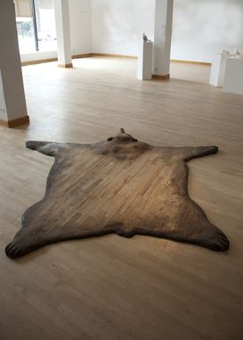 Custom Hardwood Floor Skin Bear Rug By Name This Design
