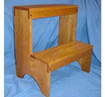Custom Made 2 Stepper Stool