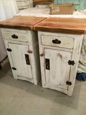 Custom Made Nightstands/ Bedside Tables
