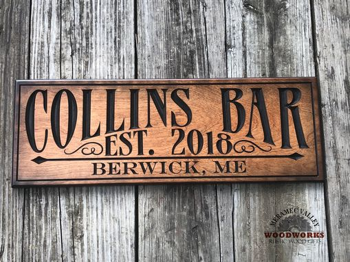 Custom Made Bar Sign, Man Cave Sign, Pub Sign