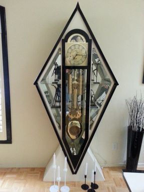 Custom Made Modern Grandfather Clock