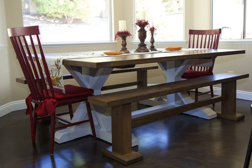 Custom Made Oak Dining Table