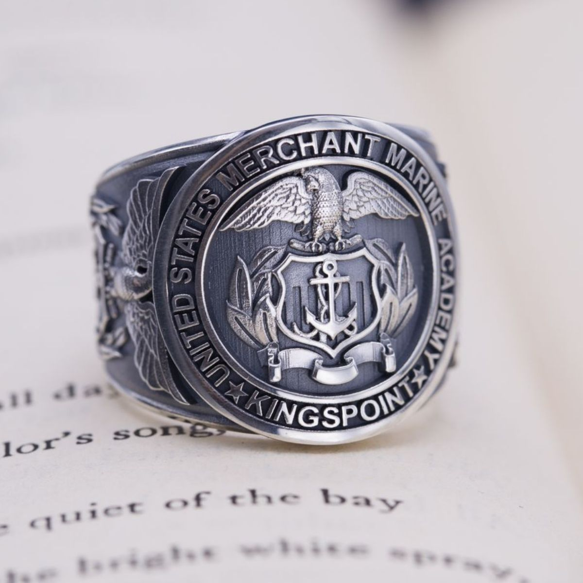 symbolism rings ring college profile of military the class pennsylvania