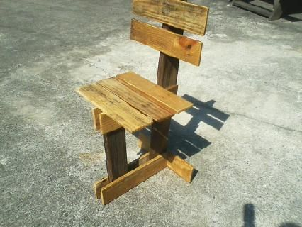 Custom Made Small Chair.
