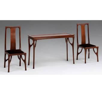 Custom Made Branching Leg Chairs And Table