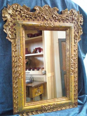 Custom Made Colonial Mirror Frame