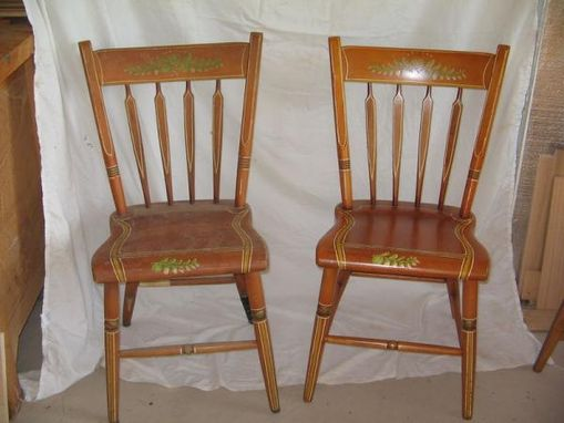Custom Made Restored And Refinished Handmade Chairs From 1966