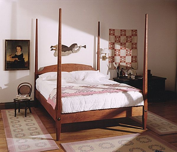 Custom Cherry Pencil Post Bed By Neal Barrett Woodworking
