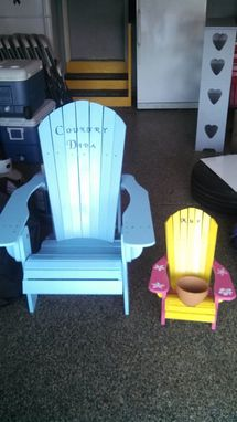 Custom Made Beach Sports Chairs Planters