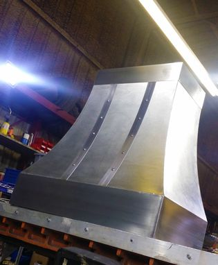 Custom Made The Cynthia - Stainless Steel Range Hood