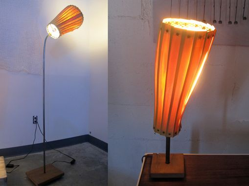 Custom Made Basswood Lamps