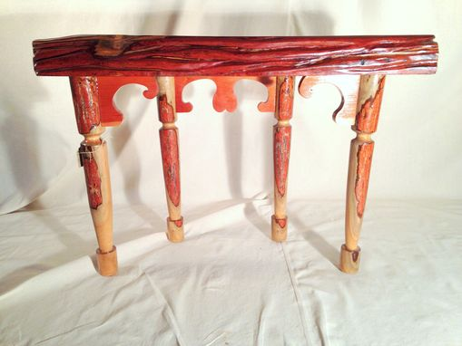 Custom Made Sassafras Hall Table.