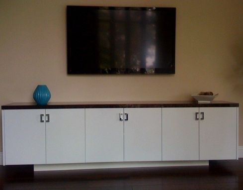 Custom Made Credenza/Media Storage