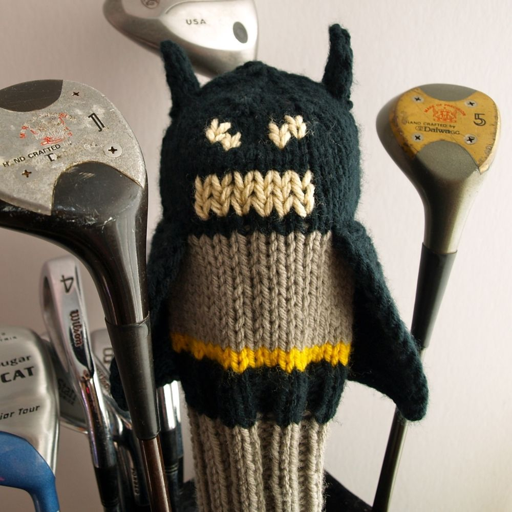 Hand Crafted Justice League Golf Head Covers by Tracey Knits ...