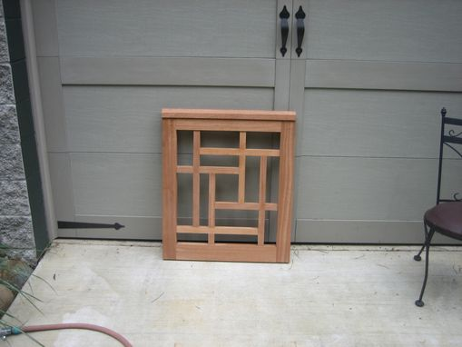 Custom Made Mahogany Gate