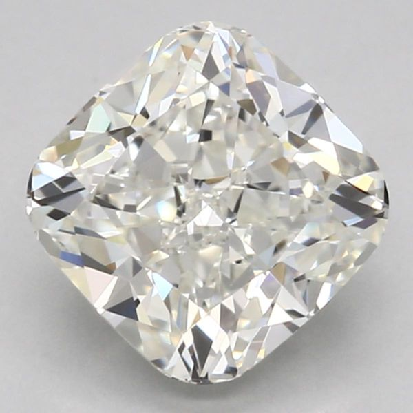 Cushion cut — hides color tint the least.