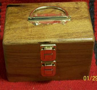 Custom Mesquite Pistol Ammo Box By J Amp J Wood Products