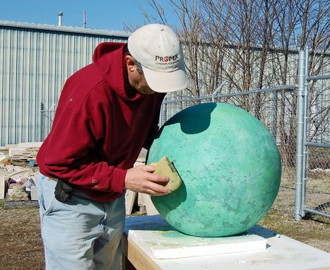 Custom Made Garden Sphere Sculpture