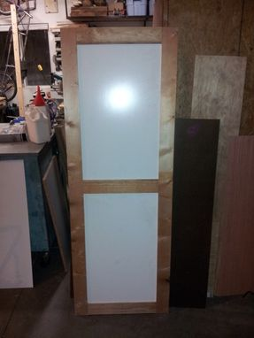 Custom Made Door To Cover Furnace