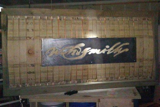 Custom Made Metal Signage