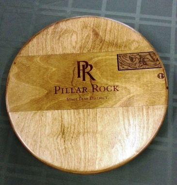 Custom Made Pillar Rock Lazy Susan