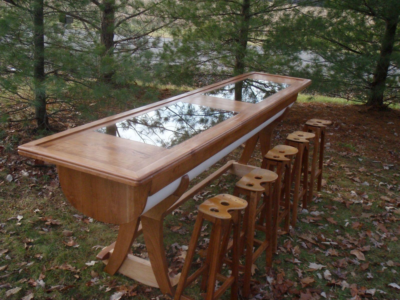 Custom Made Rowing Boat Bar