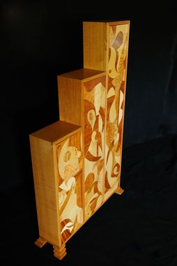 Custom Made Art Deco Cabinet