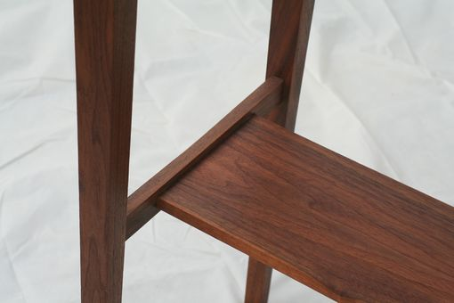 Custom Made Walnut Sofa Table