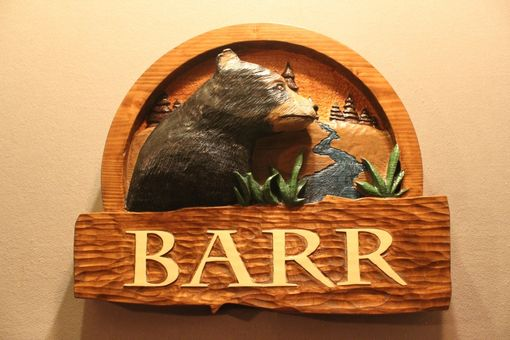 Custom Made Carved Wood Signs | Custom Wooden Signs | Handmade Wood Signs | Home Signs | Cabin Signs