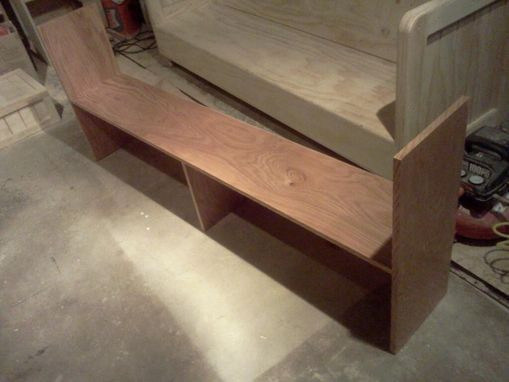 Custom Made Desk Top Bookcase