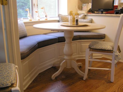 Custom Made Banquette For Kitchen Madison ,Nj