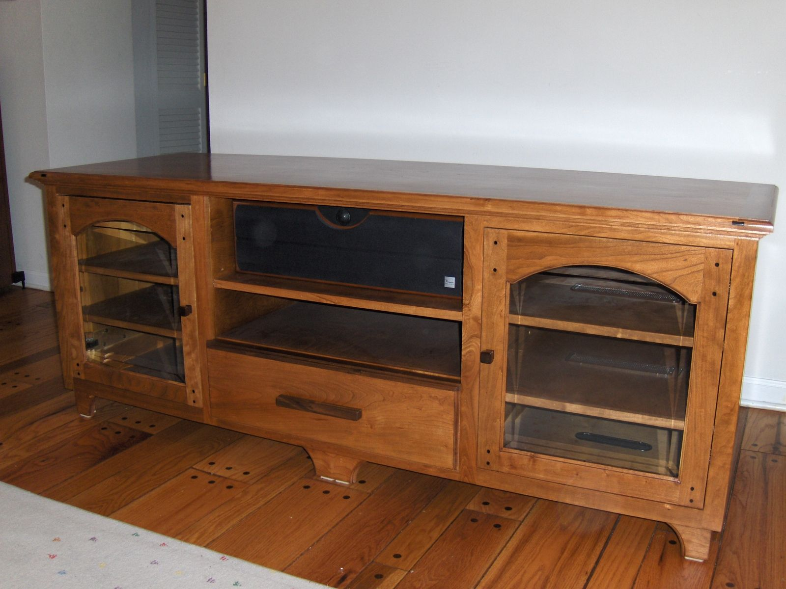 Custom Made Tv Stereo Cabinet
