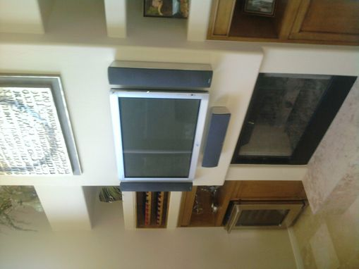 Custom Made Tv Frame And Speaker Covers