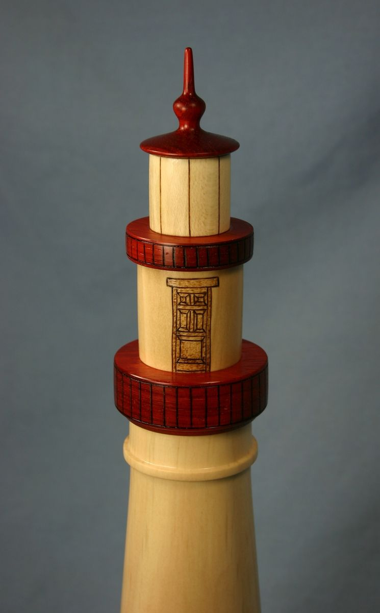 Custom Lighthouse Beer Tap Handle By Jerryswoodworks