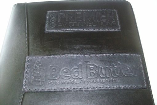 Custom Made Custom Leather Name/Business Plates