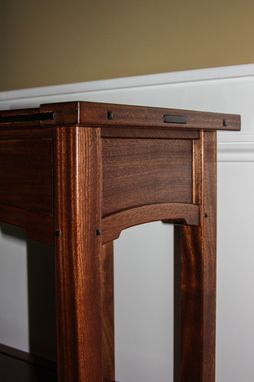 Custom Made Arts And Crafts Sofa Table